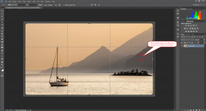 Straighten the Horizon in Photoshop
