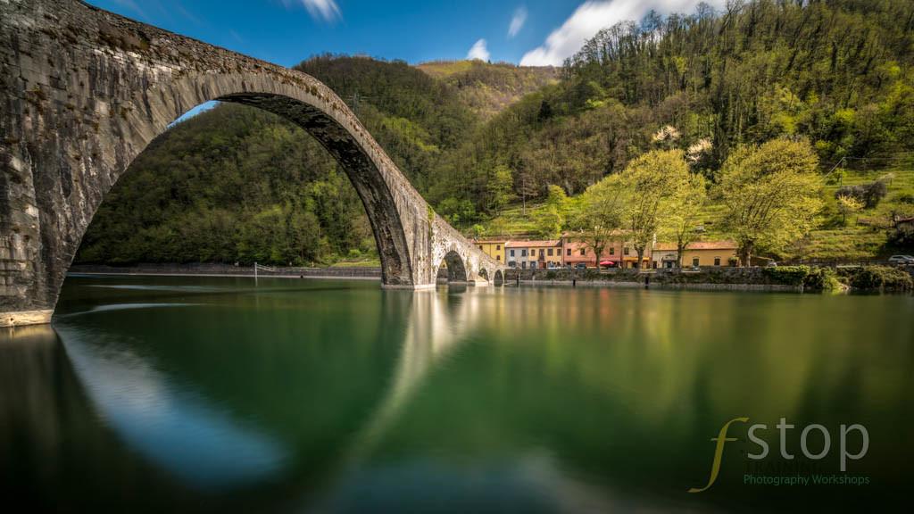 Ponte della Maddalena for gallery in Tuscany