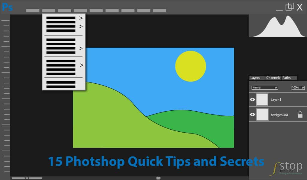 Photoshop Quick Tips