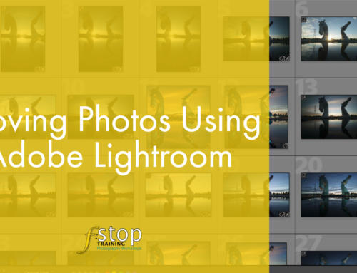 Move Your Photographs Using Lightroom