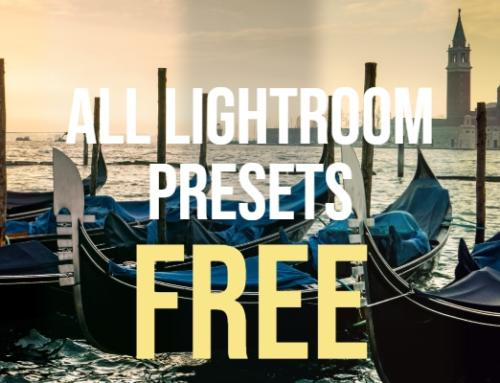 Free Lightroom Presets and eBooks For Immediate Download