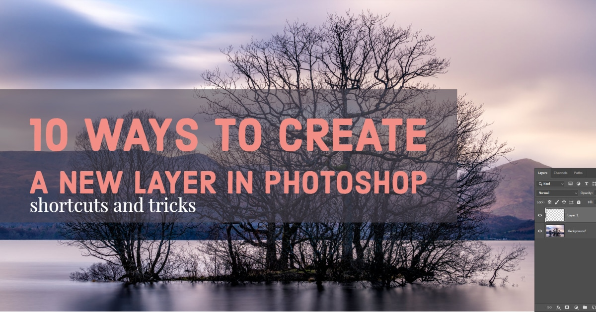 Create a new layer in Photoshop - Featured Image
