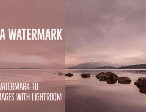 Add a Watermark with Lightroom to Your Exported Images