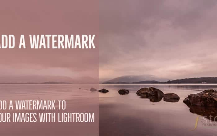 Add a watermark with Lightroom