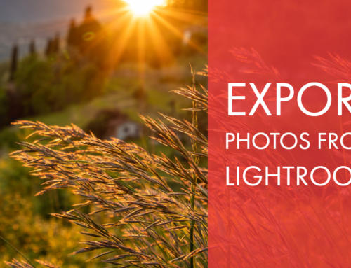 Export Photos from Lightroom Classic CC