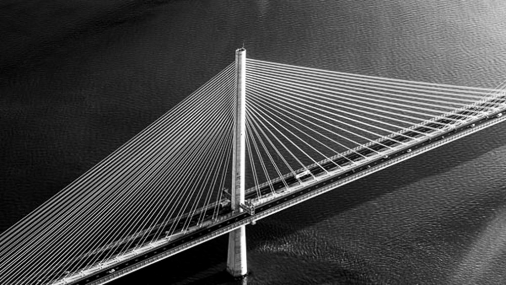 Queensferry Crossing, River Forth, Scotland
