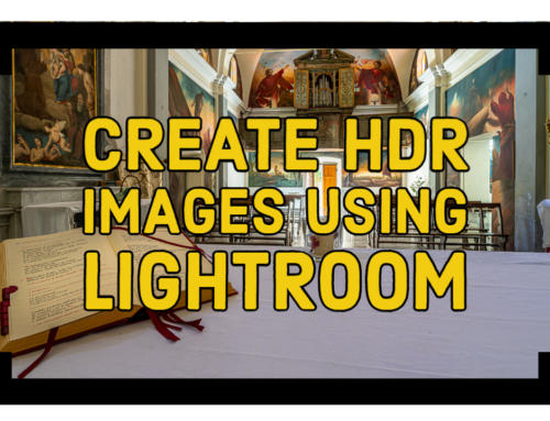 Create HDR Images in Lightroom Classic