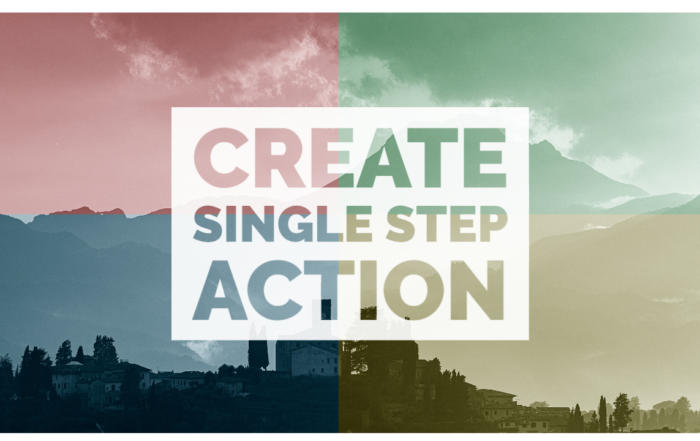Single Step Action Featured Image