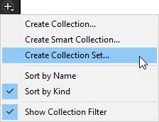 Create Selection Set menu