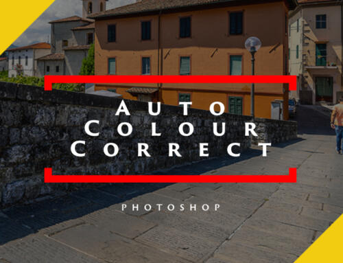 Auto Colour Correct Using Adjustment Layers