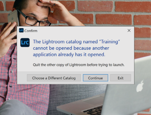 Lightroom Catalog Cannot Be Opened