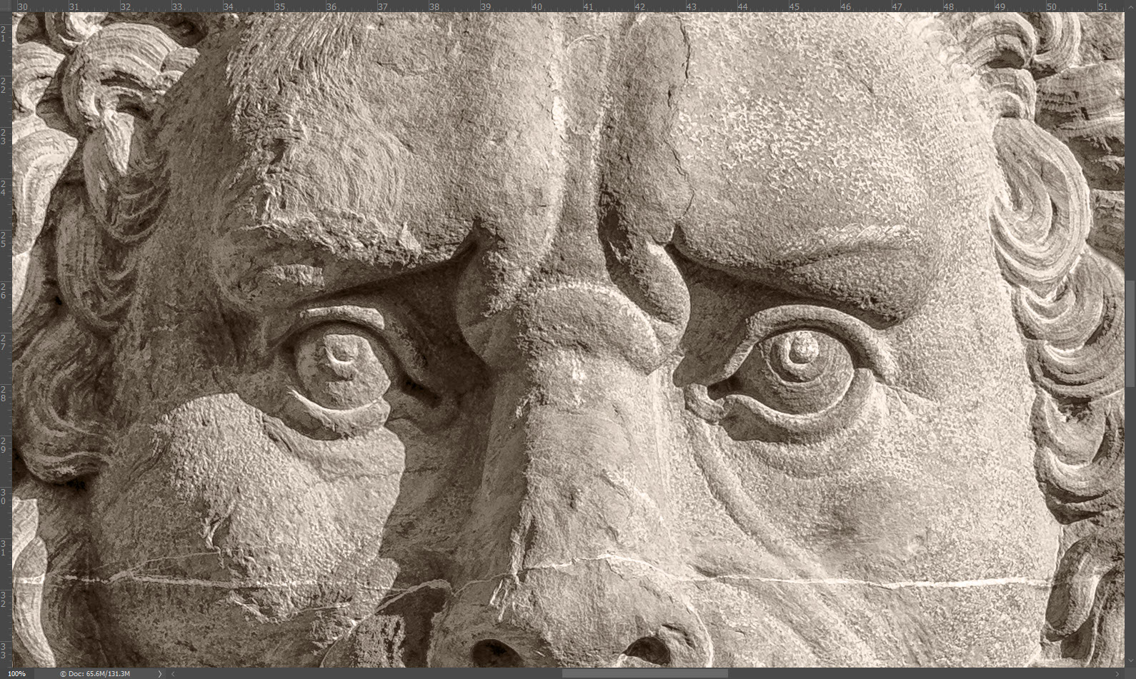 Sepia Tone Effect in Photoshop - Simple