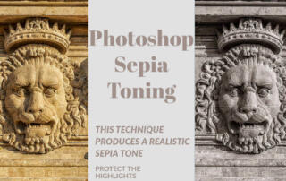 Sepia Tone Effect in Photoshop